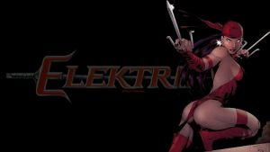 Elektra Wallpaper - In Black by Curtdawg53