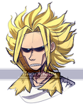 All Might by HaruKitsu