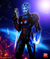 Mass Effect 3 Daughter Of The Savior Of The Galaxy by RedLineR91