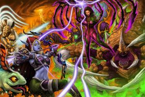 Heroes of the Storm by johnbecaro