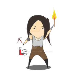 [CarbotStyled] Lara Croft by ntl2309