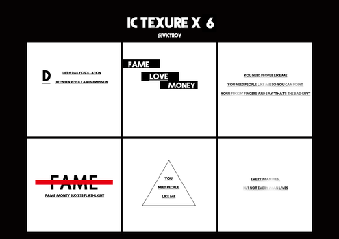 ic texures X 6 by Viktroy