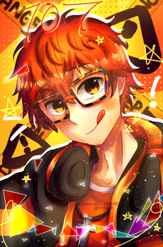 {mystic messenger} 707 [SPEEDPAINT] by Paluumin