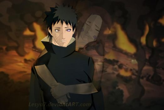 Obito and Rin: Stop doing it... by Lesya7