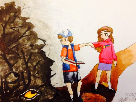 Let's just go home Dipper.... by doubleDare6969