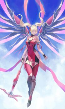 Pink Mercy by phamoz
