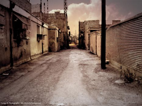 Alley by mermojtaba