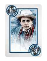 7th Doctor Who King of Clubs by TMC-INK