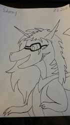 AT Stormy ( Simple Lineart ) by Dragonsfriend90