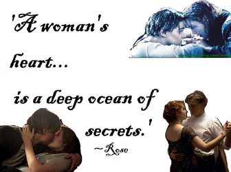 Titanic Quote by DramaQueen56