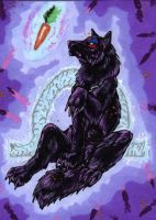 ACEO -Bloodhoundomega- by CrescentMoon