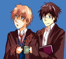 chirstmas james and remus by rzaf444