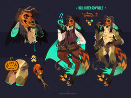 {AUC} Halloween adoptable: Rotten Pumpkin | CLOSED by MOHNOT