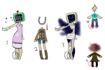 Object head Resell Batch! (CLOSED) by Emptyproxy