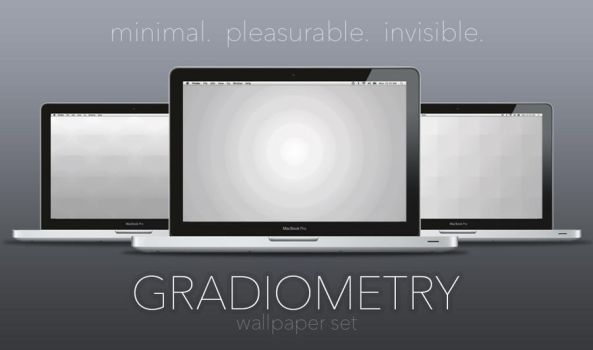 Gradiometry Wallpaper Set by kevinhamil