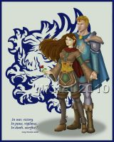 Alistair and Queen v2 by Nifriel