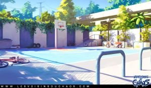 Basketball Ground by Tohad
