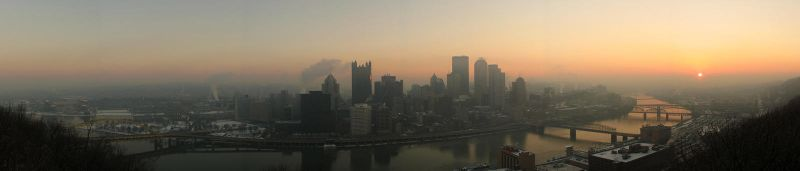 Pittsburgh Skyline 080224 by MaillerPhong