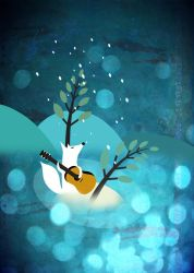 Blue Night Serenade by melemel