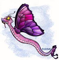 Slitherflap the Faerie Hissi by lexi0bah