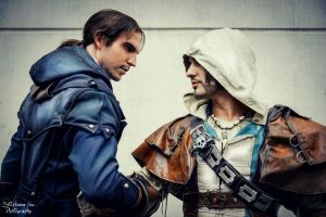Assassin's Creed Brotherhood Power in Gamescom2014 by LeonChiroCosplayArt