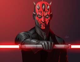 Darth Maul by fradarlin