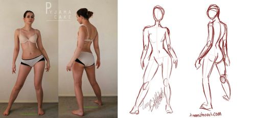 Gesture Drawing 1 Sketchthis by tinanewtonart