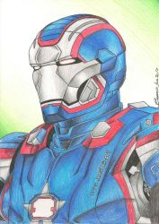 Iron Patriot by BrunoPellico