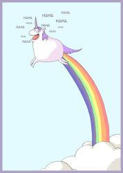 Happy unicorn by kangel