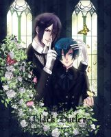 black butler by ShikiCrow