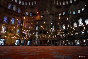 Blue Mosque by Makkusa