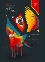 MACAW CANINE ADOPT AUCTION (closed) by Volinfer
