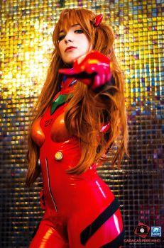 Asuka Plugsuit Cosplay Evangelion by dieyoung22