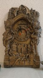 Clock oak Game of thrones by AlanT2