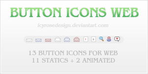 ButtonIcons_Web by icyrosedesign