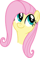 Vector 15} Fluttershy being a weirdocutieshy by pixiepea