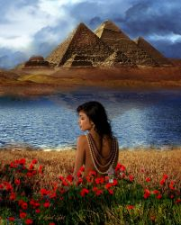 Flower of The Nile by AprilLight