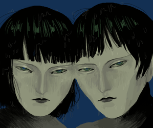 swamp twins by xuh