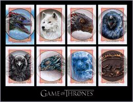 GAME OF THRONES S3 Sketch Cards by S-von-P