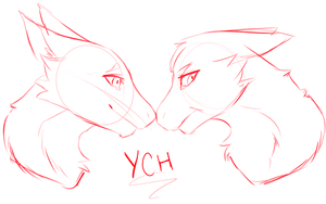 YCH - Valentine's Day [OPEN] by Bayonettu