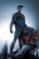 Superman by Brett Booth by Nezotholem