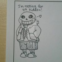 Sans the skeleton by cpxapple