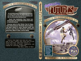 Impossible Futures Book Cover by Duncan-Eagleson