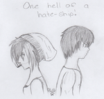 One Hell Of A Hate Ship (Dale and Malia) by NoxiousZombie