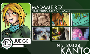 Trainer Card: Madame Rex by phantos