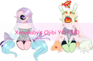Toothy Chibi YCH CLOSED by XenoBaby