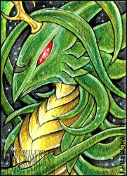 ACEO CryoftheBeast by LadyFromEast