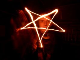 Pentagram Burning Star, Pentagram Shining Bright by KingOvRats