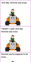 Terence was Very Cross by Princess-Muffins