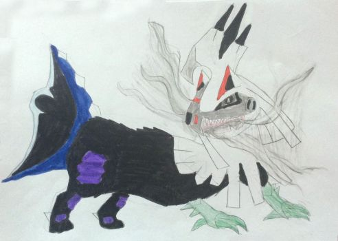 Dark Silvally by Sia-the-Mawile